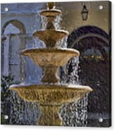 Ormond Water Fountain Acrylic Print