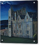 Ormonde Castle And Manor By Night Acrylic Print