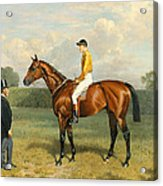 Ormonde Winner Of The 1886 Derby Acrylic Print by Emil Adam