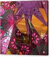 Ornamented Stars Acrylic Print
