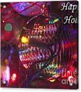 Ornaments-2038-happyholidays Acrylic Print