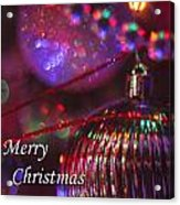 Ornaments-2054-merrychristmas Acrylic Print