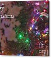 Ornaments-2096-merrychristmas Acrylic Print