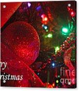 Ornaments-2107-merrychristmas Acrylic Print
