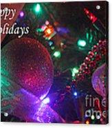 Ornaments-2130-happyholidays Acrylic Print