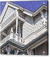 Ornate Balcony With View Acrylic Print