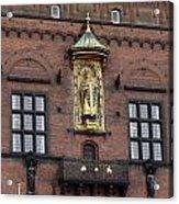 Ornate Building Artwork In Copenhagen Acrylic Print