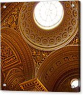Ornate Ceiling Of Versailles Acrylic Print