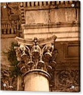 Ornate Column  Acrylic Print