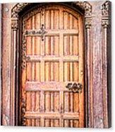 Ornate Door Acrylic Print