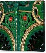 Ornate Fountain Detail Acrylic Print
