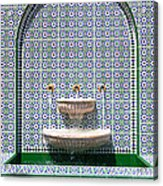 Ornate Fountain - Oman Acrylic Print
