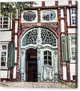 Ornate German Door Acrylic Print