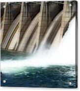 Oroville Dam Unleashed Acrylic Print