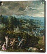 Orpheus And Eurydice Acrylic Print