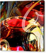 Orrefors Glass Reflecions Acrylic Print