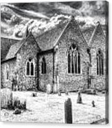 Orsett Church Essex England Acrylic Print