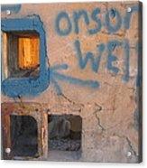 Orson Welles Depository Eleven Mile Corner Arizona 2004 Acrylic Print