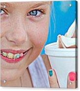 Orthodontic Smile Acrylic Print