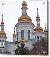 Orthodox Crosses Acrylic Print