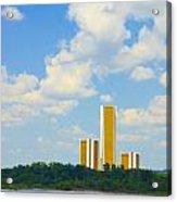 Oru River Skyline II Acrylic Print