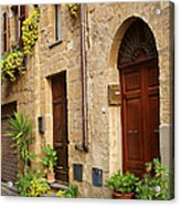 Orvieto Homes Acrylic Print