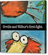 Orville And Wilburs First Flight Acrylic Print