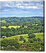 Osage County Lookout Acrylic Print