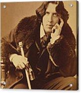 Oscar Wilde 1882 Acrylic Print