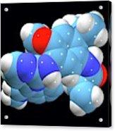 Osimertinib Lung Cancer Drug Molecule Acrylic Print