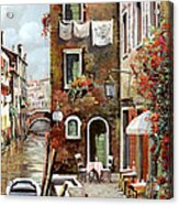 Osteria Sul Canale Acrylic Print