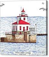 Oswego Harbor Lighthouse Acrylic Print