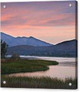 Otay Lake Sunrise Acrylic Print
