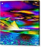 Other Worldly Beach Acrylic Print