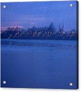 Ottawa By Night 2 Acrylic Print