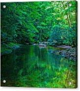 Otter Creek Reflection  Acrylic Print
