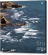 Otter Rock Ocean View Acrylic Print