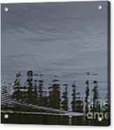Otter X-ing Acrylic Print