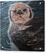 Ottertude Acrylic Print