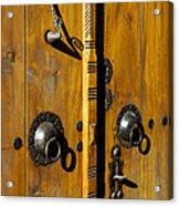 Ottoman Door Knockers Acrylic Print