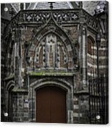 Oude Kerk Door Amsterdam Acrylic Print