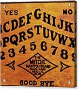 Ouija Board 1 Acrylic Print