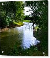 Our Fishing Hole Acrylic Print