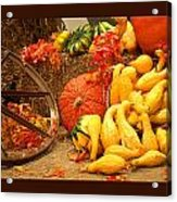 Our Harvest Today Acrylic Print