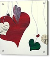 Our Hearts Beat For This World Acrylic Print