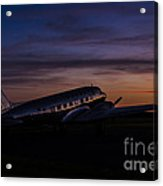 Our Heritage At Sunrise Acrylic Print
