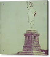 Our Lady Liberty Acrylic Print