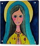 Our Lady Acrylic Print