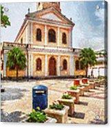 Our Lady Of Carmel Church Acrylic Print
