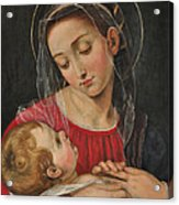Our Lady Of Divine Providence Acrylic Print by Terry Sita